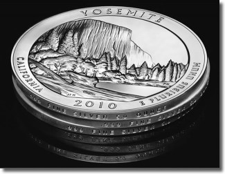 Edges of America the Beautiful Silver Coins