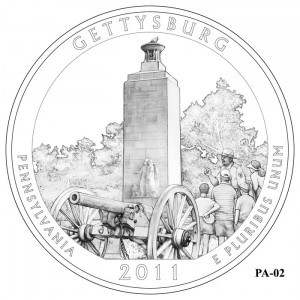 Gettysburg Coin Design Candidate PA-02