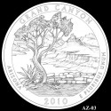 Grand Canyon Silver Coin Design Candidate AZ-03