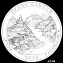 Grand Canyon Silver Coin Design Candidate AZ-04