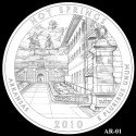 Hot Springs Coin Design Candidate AR-01