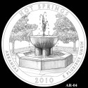 Hot Springs Coin Design Candidate AR-04