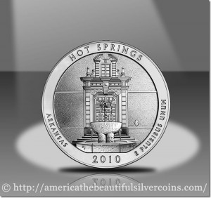 Hot Springs Silver Bullion Coin