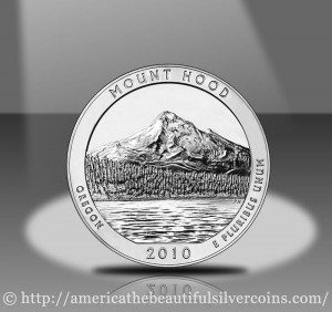 Mount Hood Silver Bullion Coin