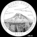 Mount Hood Silver Coin Design Candidate OR-02