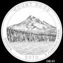 Mount Hood Silver Coin Design Candidate OR-03