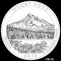Mount Hood Silver Coin Design Candidate OR-04