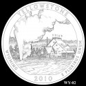 Yellowstone Silver Coin Design Candidate WY-02