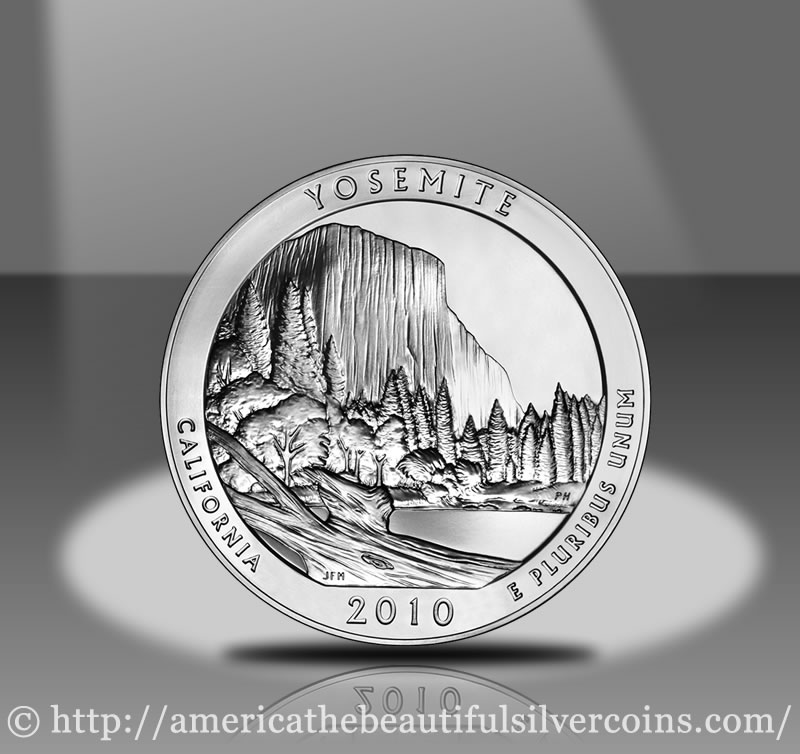 Yosemite America The Beautiful Silver Bullion Coin