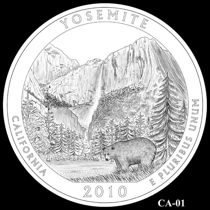 Yosemite America The Beautiful Silver Bullion Coin