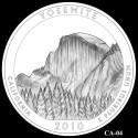 Yosemite Silver Coin Design Candidate CA-04
