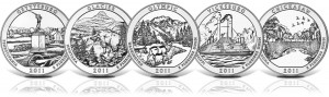 2011 America the Beutiful Silver Coins