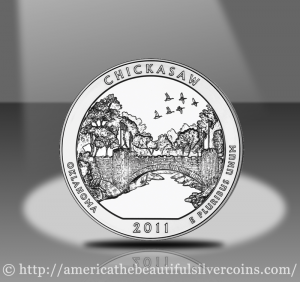 2011 Chickasaw Silver Bullion Coin