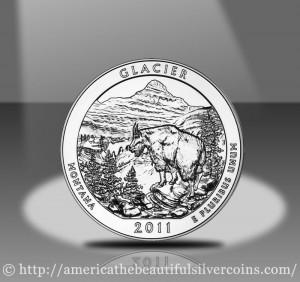 2011 Glacier Silver Bullion Coin