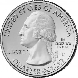 2014 America the Beautiful Silver Bullion Coin Obverse
