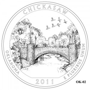 Chickasaw Coin Design Candidate OK-02