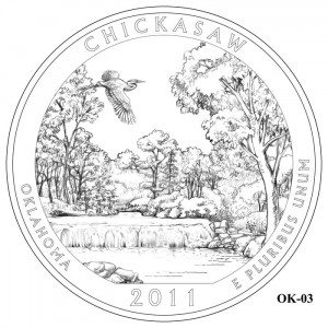 Chickasaw Coin Design Candidate OK-03
