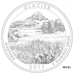 Glacier Coin Design Candidate MT-01