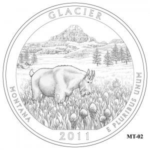 Glacier Coin Design Candidate MT-02