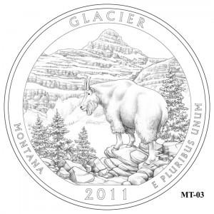 Glacier Coin Design Candidate MT-03