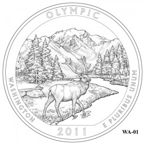 Olympic Coin Design Candidate WA-01