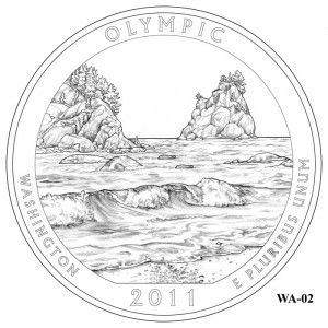 Olympic Coin Design Candidate WA-02