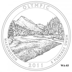 Olympic Coin Design Candidate WA-03