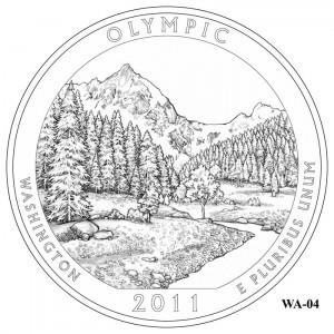 Olympic Coin Design Candidate WA-04