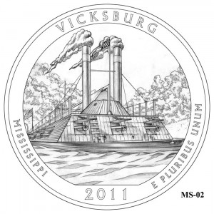Vicksburg Coin Design Candidate MS-02