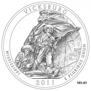 Vicksburg Coin Design Candidate MS-03