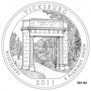 Vicksburg Coin Design Candidate MS-04