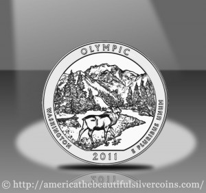 2011 Olympic Silver Coin